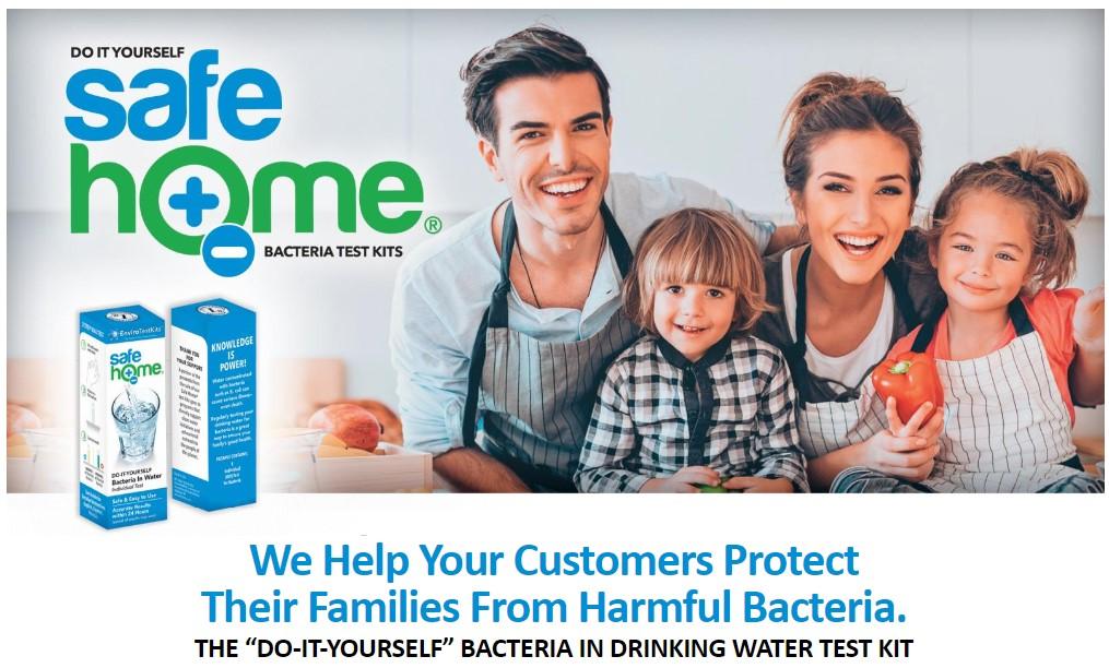SafeHome Bacteria Test Kits