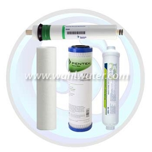 Reverse Osmosis Filter Set of 3 (Generic) with 50GPD Membrane  | WW032
