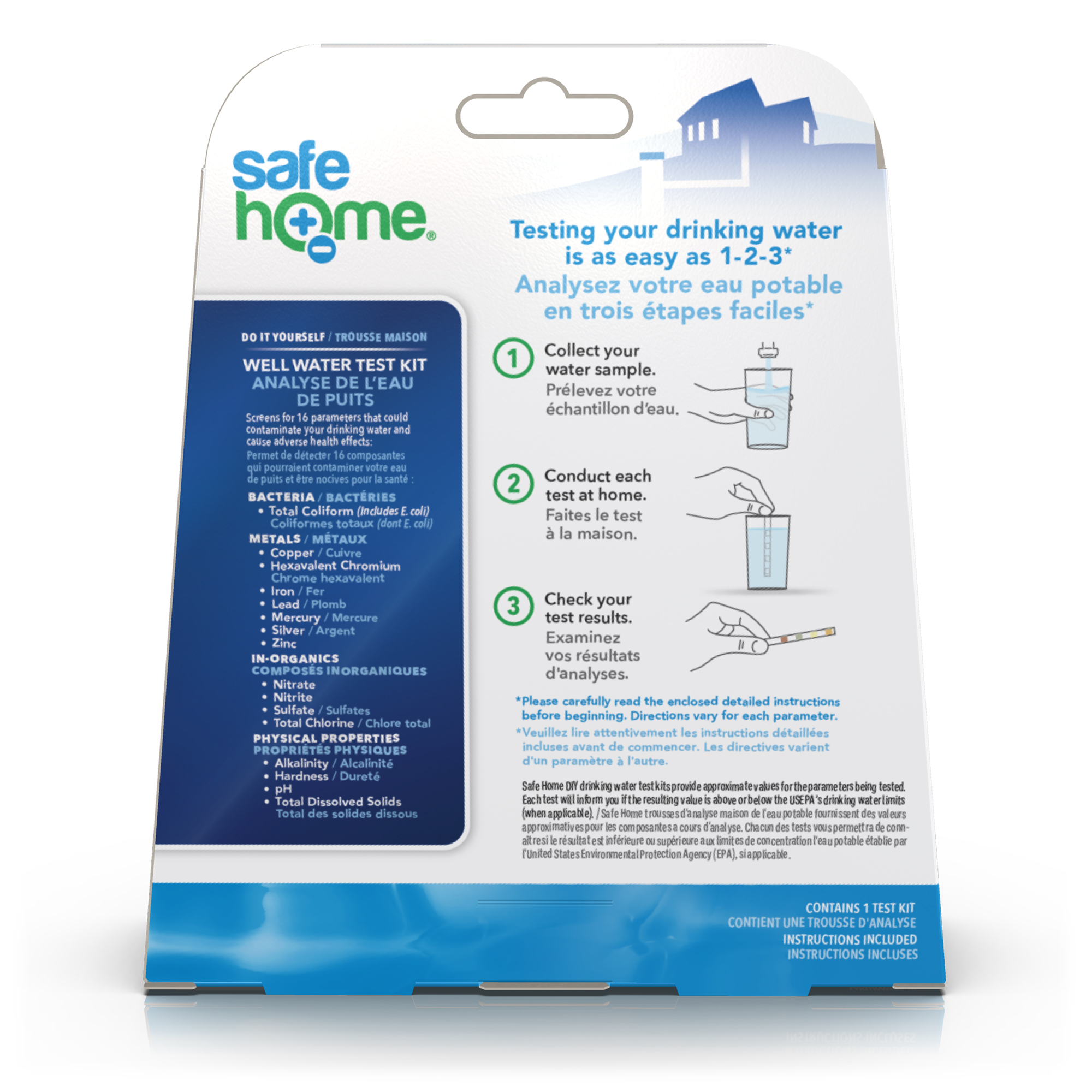 SafeHome Well Water Test Kits