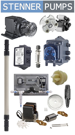 Stenner Pumps and Parts in Canada