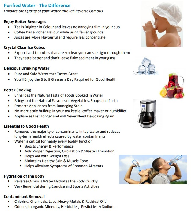 Enjoy the Benefits of Purified Water