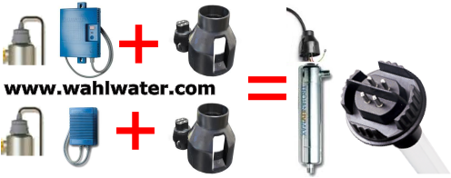 602980   Viqua UVMax Lamp Adapter Kit   Wahl Water Canada