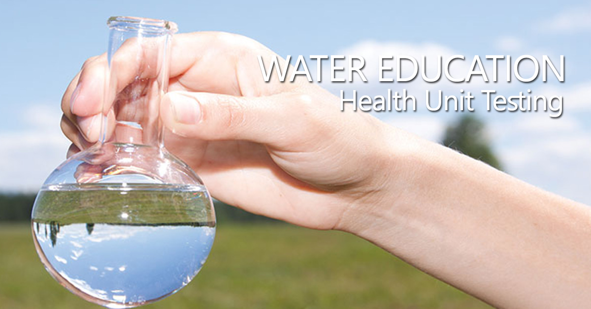 Health Unit Water Testing