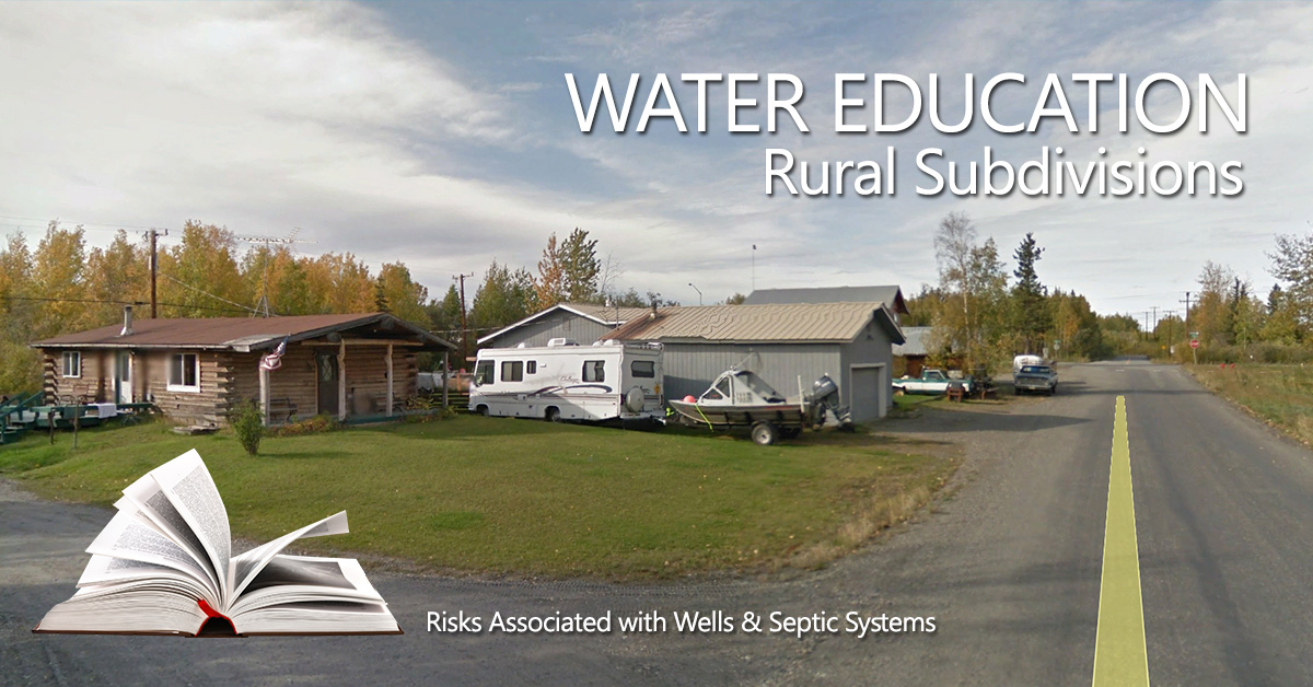 Learn about water quality from septic systems and wells