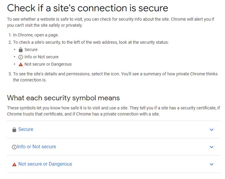 Website Security Checking