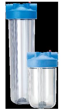 Pentek-Big-Clear-Water-Filter-Housings