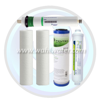 Reverse Osmosis Filter Set of 4 (Generic) with 75GPD Membrane  | WW013