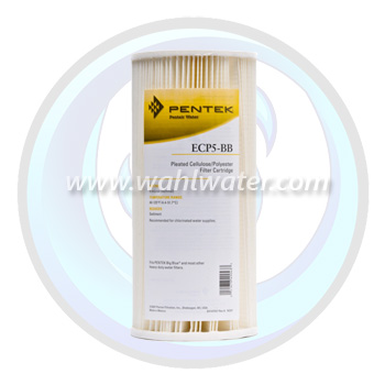Pentek ECP5-BB Pleated Sediment Filter | 255490-43