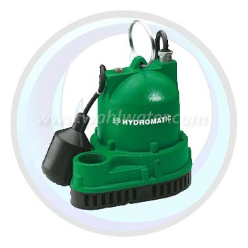 Sump Pump 3/10HP Cast Iron | 115V | Residential | Hydromatic | W-A1