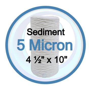 BB10 String Wound 5 Micron Sediment Filter | 14GSWP105