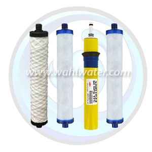 Hydrotech RO Filter Set (3) & 50GPD Membrane | WW026