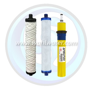 Hydrotech RO Filter Set (2) & 50GPD Membrane | WW023