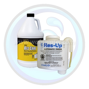 Res-Up Automatic Feeder with ResCare | Set for Water Softeners | WW022