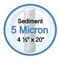 BB20 String Wound 5 Micron Sediment Filter | 14GSWP205