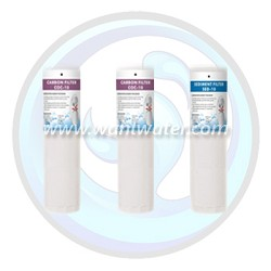 Canature 475 Pro Series RO Filter Set of 3 | SED-10 | COC-10 x2 | 65010086 | 65010088