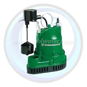 Sump Pump 3/10HP Cast Iron | 115V | Residential | Hydromatic | V-A1