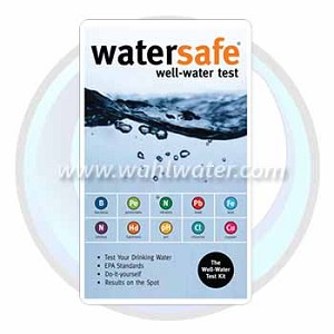 WaterSafe® | Well Water Test Kit | WS-425W